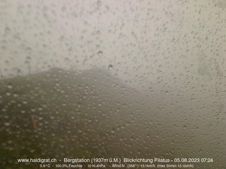 Webcam Haldigrat Blickrichtung Pilatus